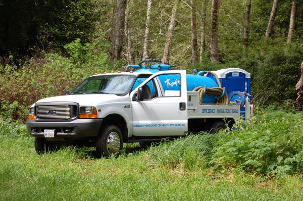 Robin, our Ford septic pumper